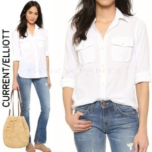 Current/Elliott the Perfect Shirt button down top